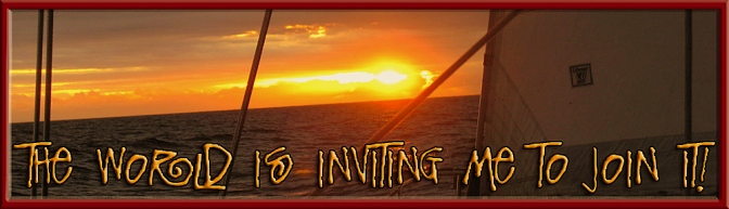 world is inviting me banner