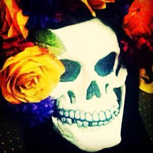 My friend's los muertos mask