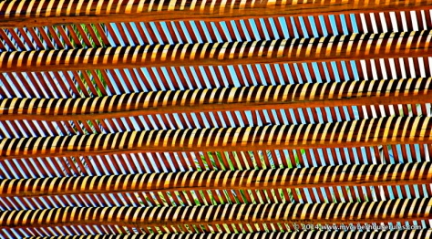 The lattices of a palapa