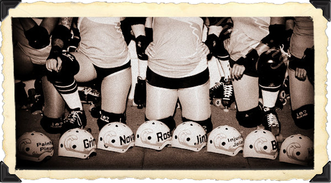I'm 48. I'm balding. And I play roller derby… And this is Why I Love It.