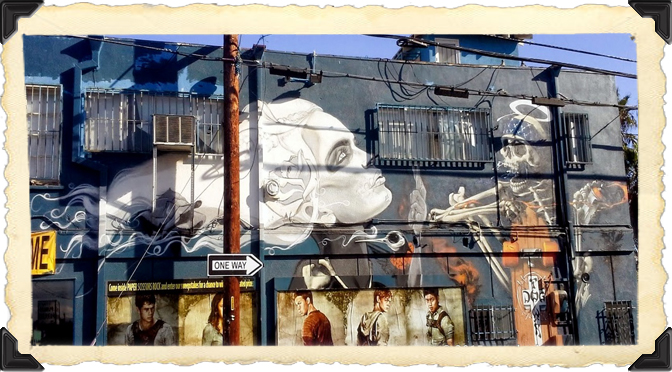The walls of Venice Beach