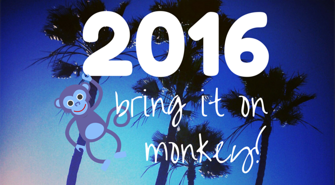 2016- Year of the Monkey