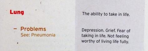 mental reason for the penumonia